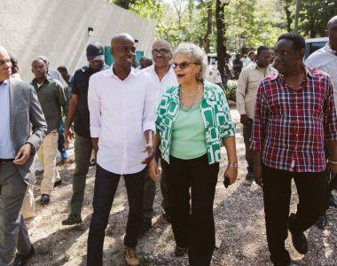 « Le Parc de Martissant est une success story », selon le Président Jovenel Moise